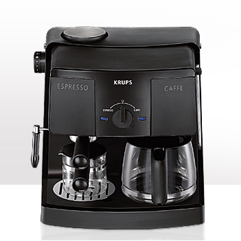 Krups Coffee Machine Is Also An Espresso Machine
