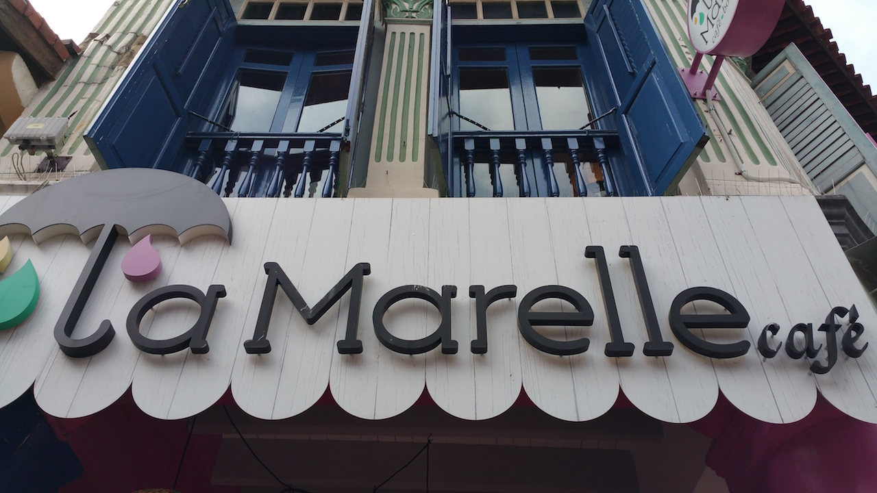 La Marelle in Baghdad Street