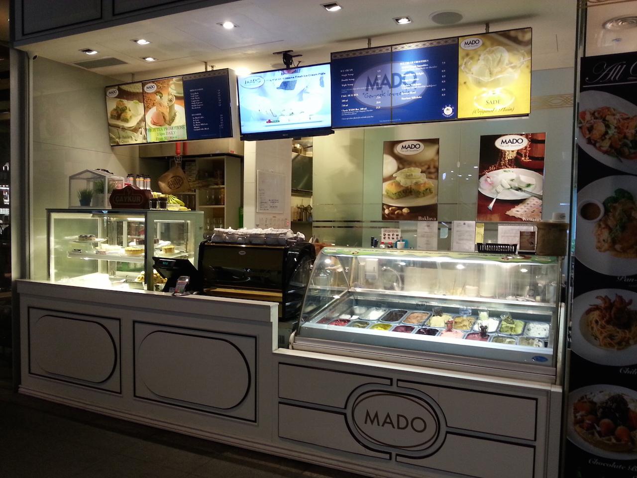 Mado Cafe at 50 Gateway Road