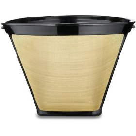 Medelco #4 Gold Tone Coffee Filter