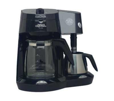 Morphy Richards 47008 10 Cup Coffee Maker Latte Machine