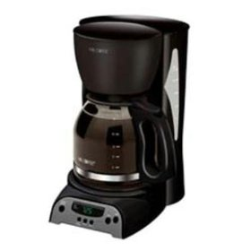 Not as advanced as let's say... The Cuisinart Coffee On Demand 12 Cup Coffee Maker