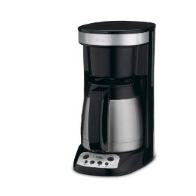 Cuisinart DCC-755BK FlavorBrew Coffeemaker with 10-Cup Thermal Carafe, Black