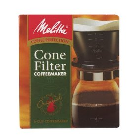 melitta cone filter manual coffeemaker