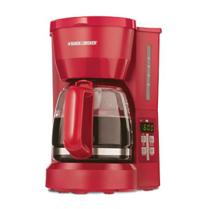 My Red Coffee Maker