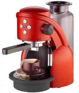 My Retro Red Coffee Machine