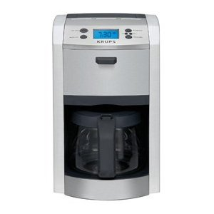 KRUPS KM8105 Die-Cast Programmable Coffeemaker