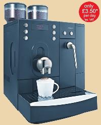 Bean to cup machine