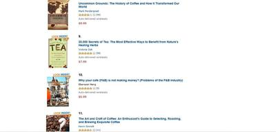 oncoffeemakers.com is a amazon kindle top 10