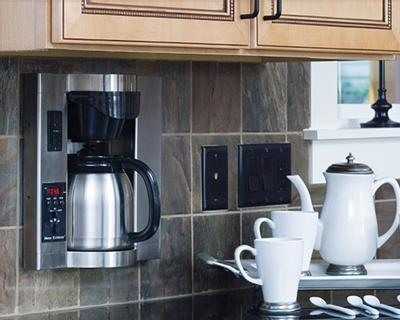 Plumbed Coffee Maker