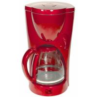 red-coffee-maker