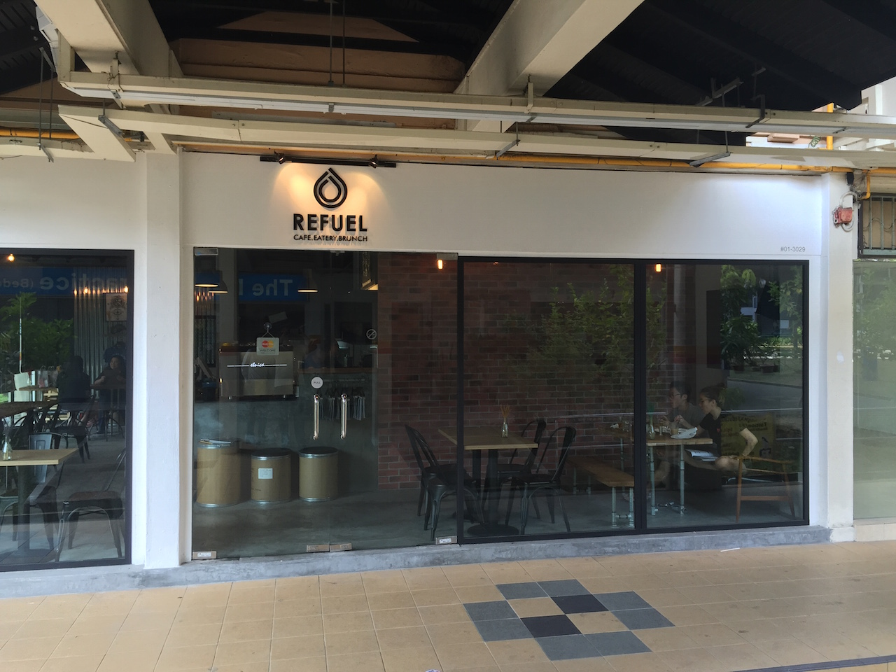 Refuel Cafe Opening Hours