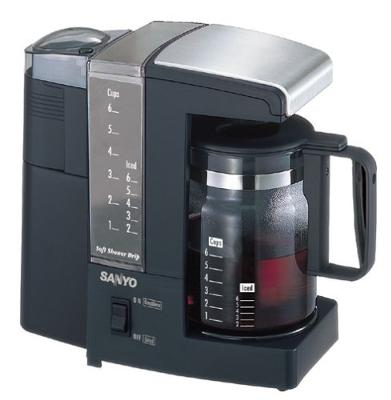Sanyo Coffee maker review