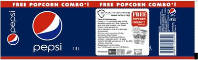 FREE Popcorn set (worth $7.00) from Shaw Theatres-Pepsi Label
