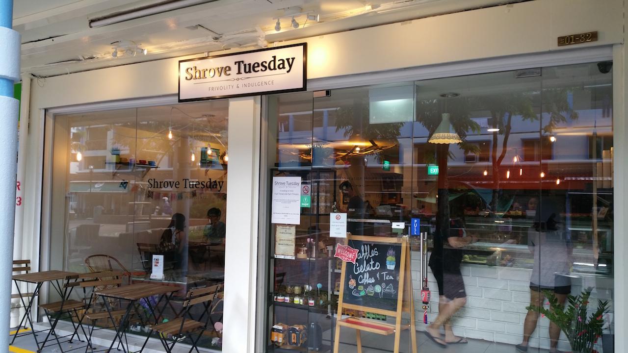 Shrove Tuesday at Toa Payoh Lor 4