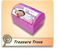 Customized candy boxes Powdered