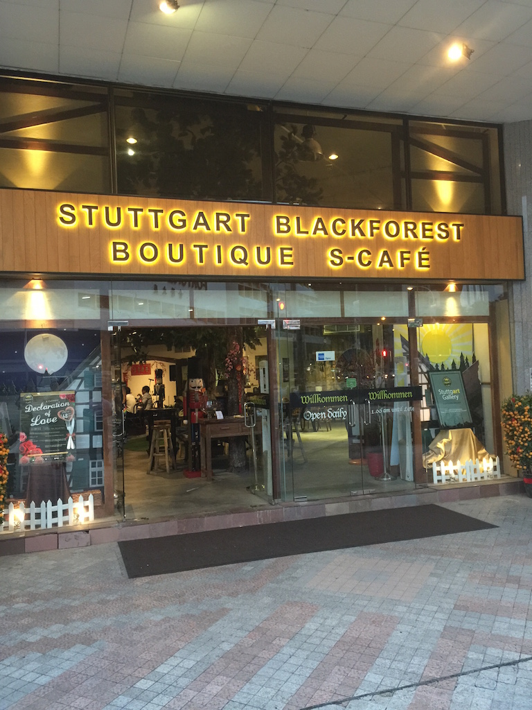 Stuttgart Blackforest Cafe in 141 Middle Road