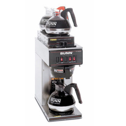 bunn pourover VP17-3 12 cup coffee maker