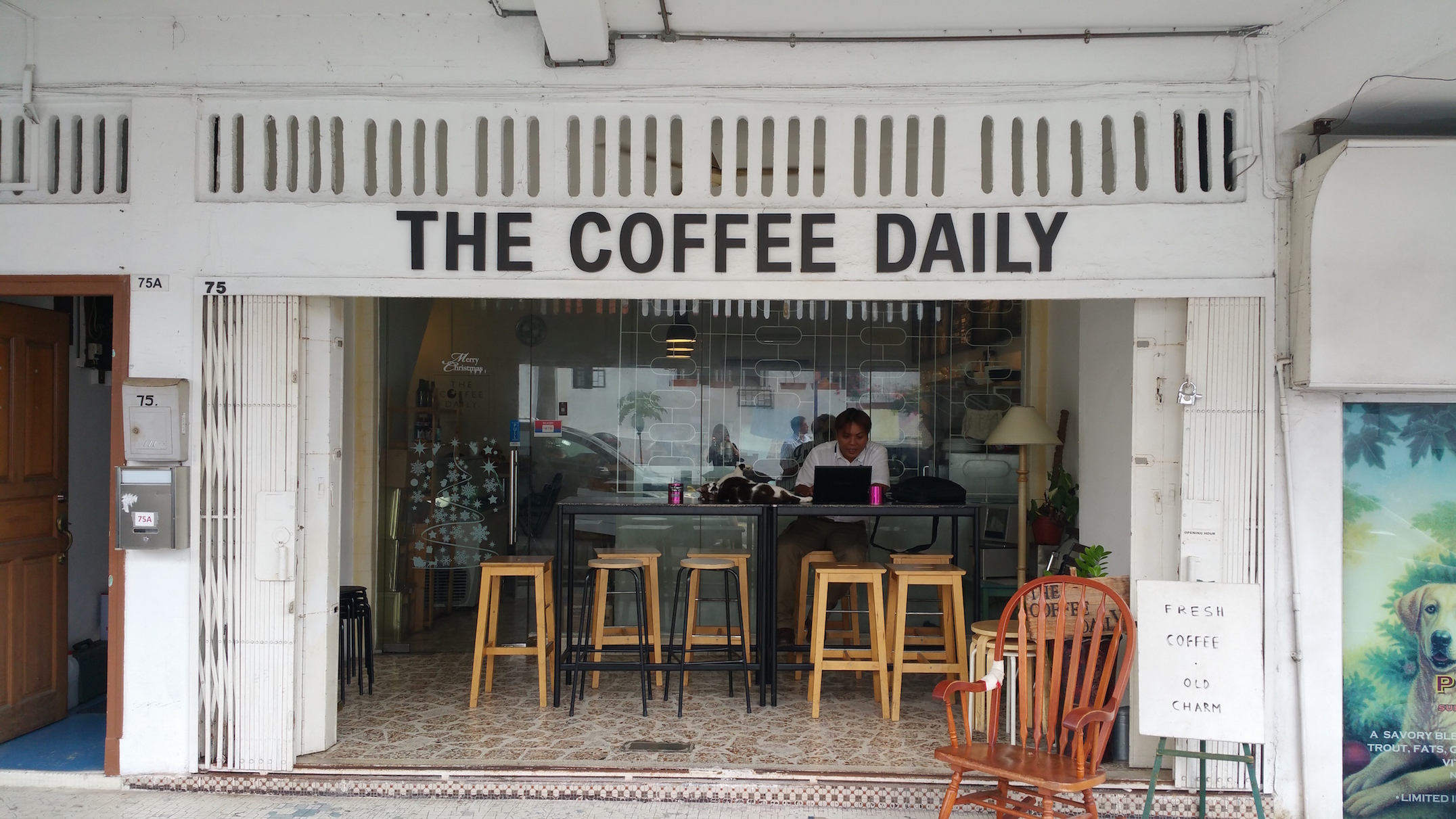 The Coffee Daily in Serangoon Garden
