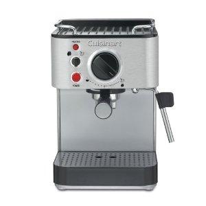 cuisinart EM-100 stainless steel espresso machine