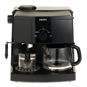 krups xp 1500 espresso machine & coffee maker