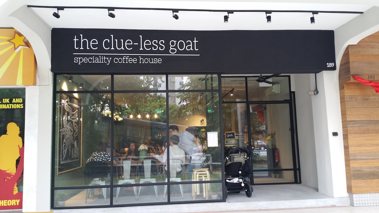Clueless Goat Cafe at Thomson Roadl
