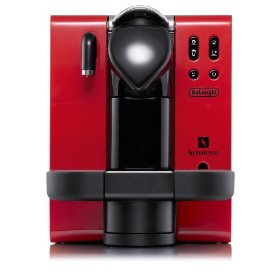 DeLonghi EN660.R Nespresso Lattissima Single-Serve Espresso Maker