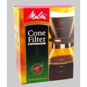 melitta #640616 10c manual coffeemaker