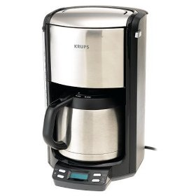This Krups coffee maker is probably the best coffee maker I have owned