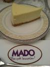 Cheese Cake at MADO Cafe JEM Jurong East