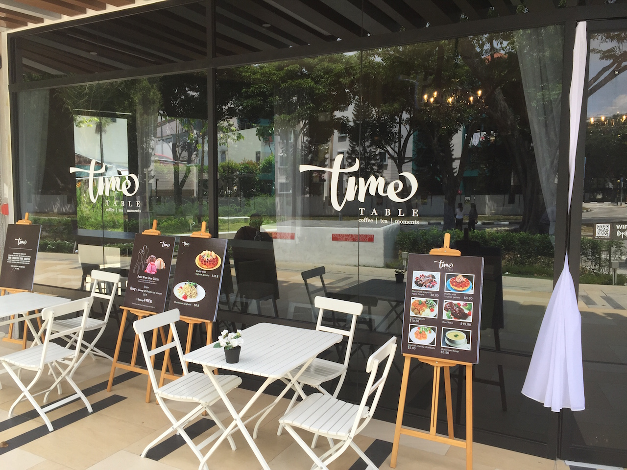 Time Table Cafe at 403 Upper Changi Road
