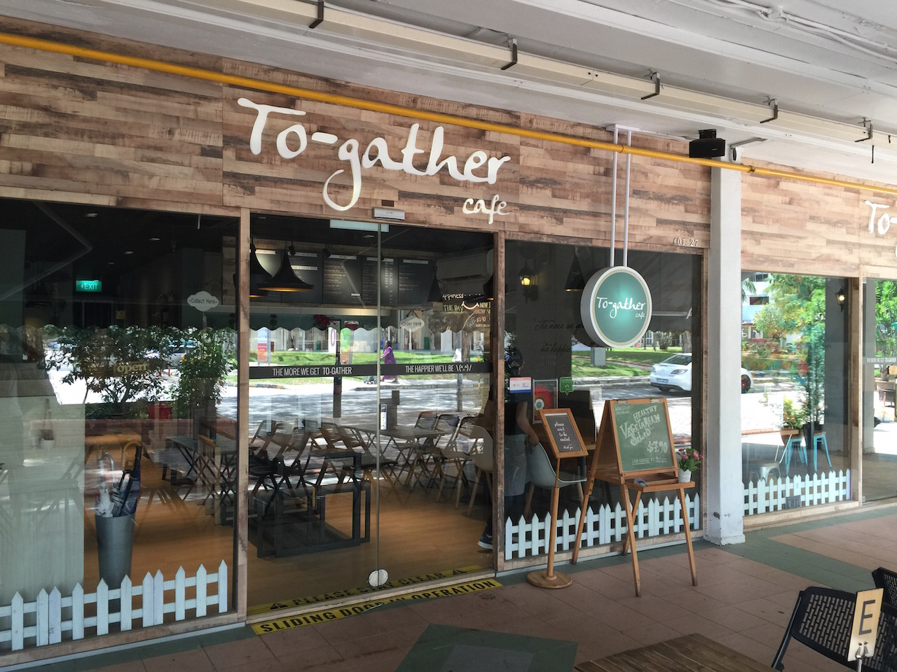 To-gather cafe at 84 Bedok North street 4