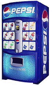 Tried Pepsi Vending Machines, But Not Coffee Vending Machines