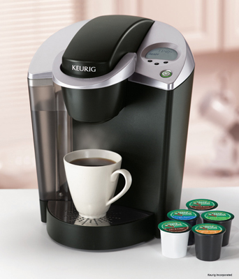 We got the best single serve coffee maker for our office! Is a Keurig!