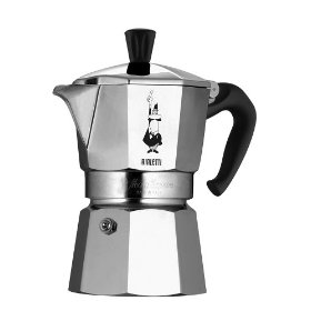 Old School Spanish Coffee Maker : Whether as a cappuccino machine or as an espresso machine, nothing beats Bialetti.