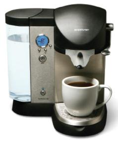 coffee pod brewer