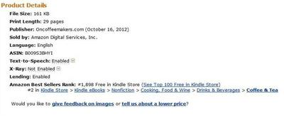 Oncoffeemakers = Amazon Best Seller!