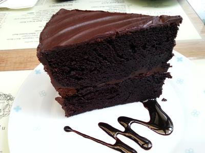 Chocolate Cake |Wimbly Lu Cafe | Singapore