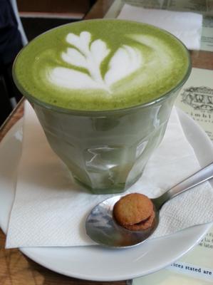 Latte Art | Wimbly Lu Cafe | Singapore