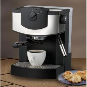 Pump driven espresso