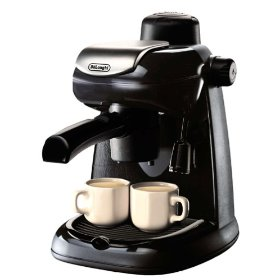 DeLonghi EC5 Steam-Driven 4-Cup Espresso and Cappuccino Maker