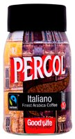 Percol Italiano Fairtrade instant coffee