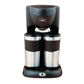 Melitta ME2TMB Inventives Dual Travel Mug Coffee Maker