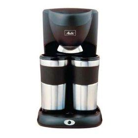 Melitta ME2TMB Inventives Dual Travel Mug Coffee Maker