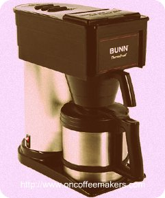 Bunn Coffee Maker Doesnot Work : BT10 bunn coffee maker is fast