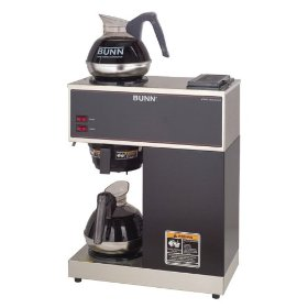 bunn vpr commercial 12-cup pour-over coffee brewer