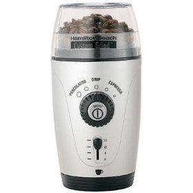 Hamilton Beach 80365 Custom Grind Hands-Free Coffee Grinder
