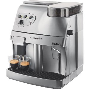 Saeco 4045 Vienna Plus 15-Bar-Pump Super-Automatic Espresso Machine, Silver