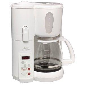 melitta mill and brew coffee maker