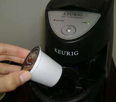 keurig coffee pod